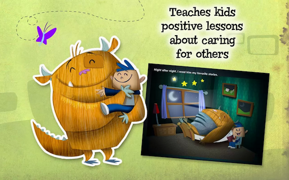 4 Gorgeous Interactive Android eBooks For Kids Kids Ebooks Monster3