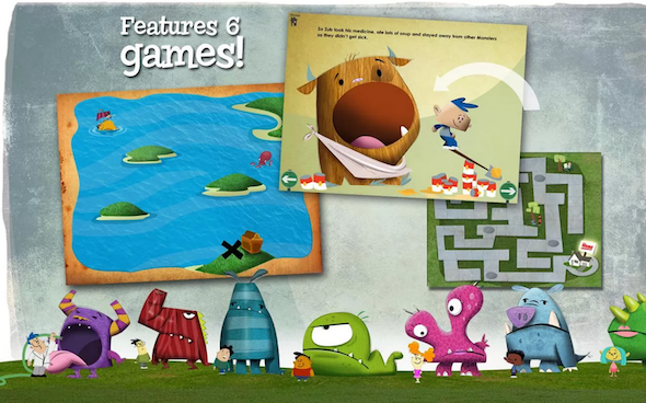 4 Gorgeous Interactive Android eBooks For Kids Kids Ebooks Monster4