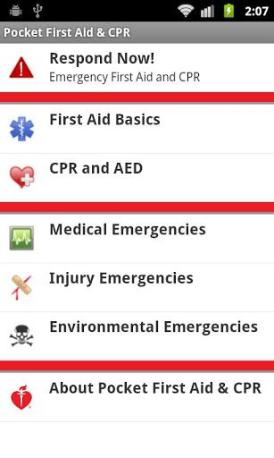 3 Great Android First Aid Apps For Emergencies Pocket First Aid CPR