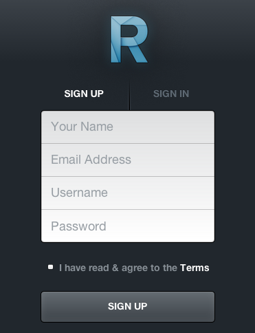 Roon Signup