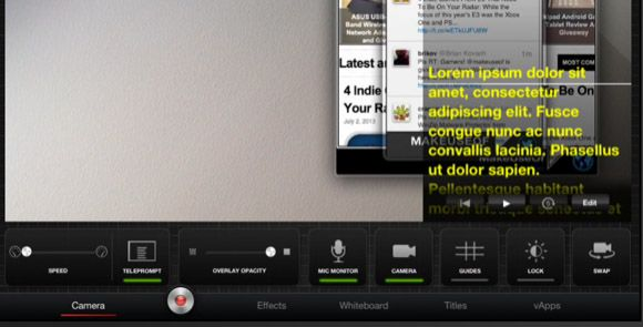TouchCast Enables You to Create Powerful Interactive Videos on Your iPad TouchCast teleprompter