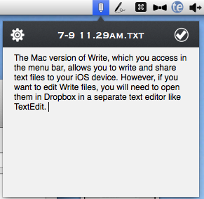 Write app mac version