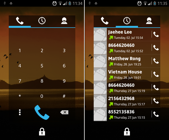 android-lockscreen-simpledialer
