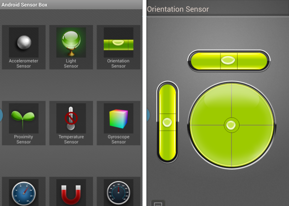 android sensor box