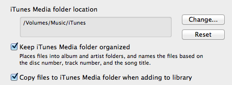 Save Space On Your Mac By Storing iPhoto & iTunes Libraries Remotely chnage location