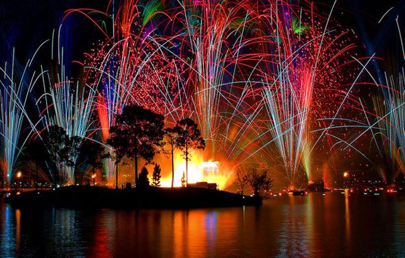 How To Photograph a Fireworks Display disney