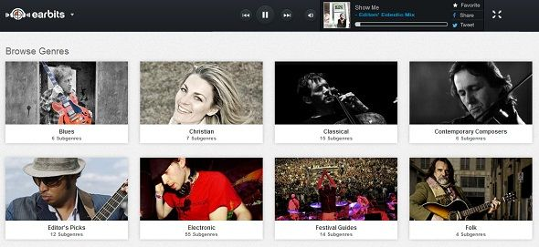 Give Your Ears A Treat: 5 Alternative Ways To Discover New Music Online earbits homepage