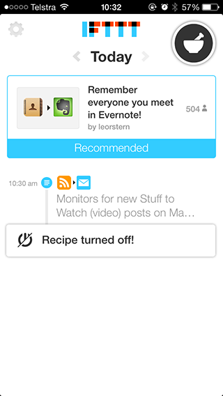 Put Your iPhone To Work With IFTTT feed1