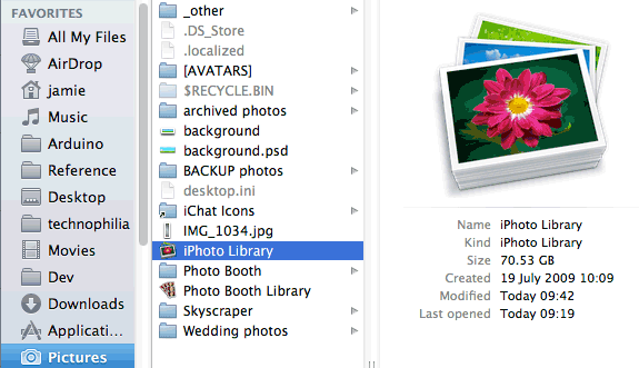 iphoto-library-size