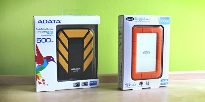 Lacie Rugged Mini Vs Adata Dashdrive Durable A Comparative Review And Giveaway