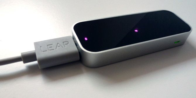 A Quick Tour of the Leap Motion Touchless Input Device