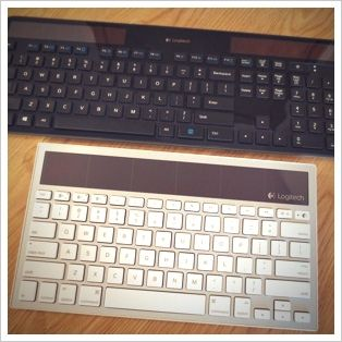 Logitech Solar Keyboards K750 and K760 Review and Giveaway