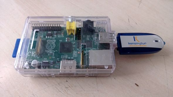 raspberry pi apps usb stick