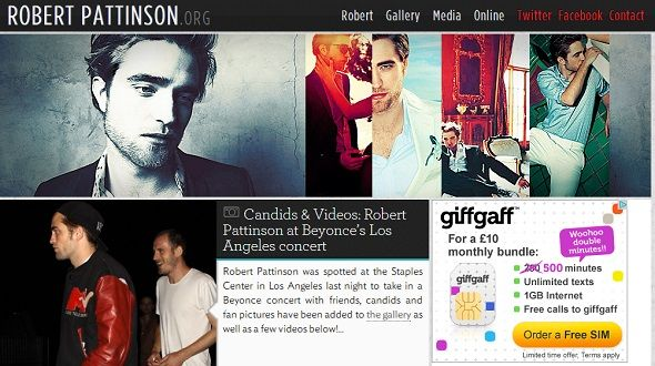 5 Ways To Contact Celebs Without Facebook Charging You robert pattinson fansite