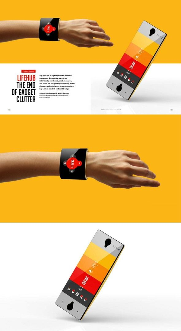 5 Smartwatch Concept Designs You Will Want! smart watch designs 1