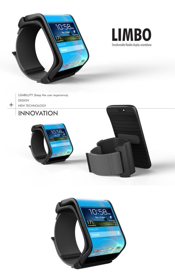 5 Smartwatch Concept Designs You Will Want! smart watch designs 2