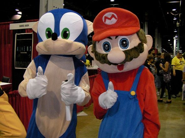 7 Signs You're a Living Piece of Gaming History sonic and mario