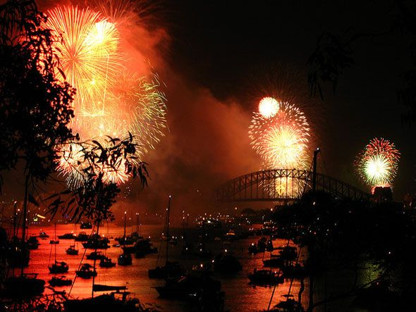 How To Photograph a Fireworks Display sydney