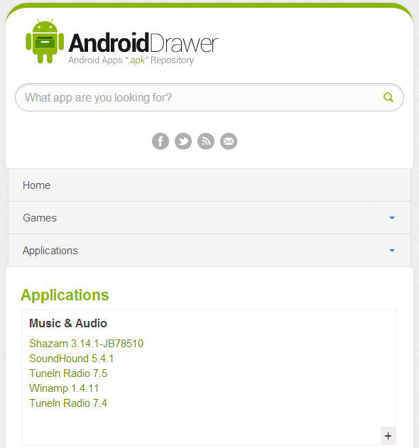 AndroidDrawer