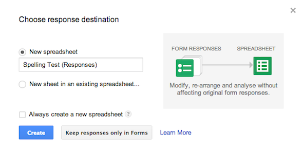 How To Use Google Forms To Create Your Own Self-Grading Quiz Google Forms Quiz Response Destination
