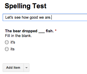 How To Use Google Forms To Create Your Own Self-Grading Quiz Google Forms Quiz Spelling