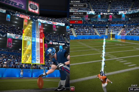 Get Sporty On Your Android With These 7 Free & Fun Games NFL Kicker 13