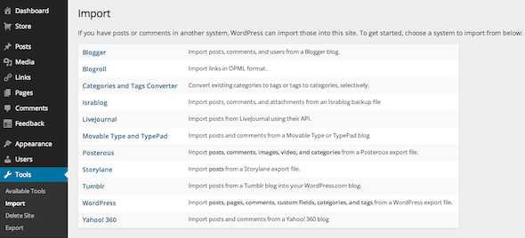 Sick Of Yahoo? Move Your Tumblr Blog Into WordPress Tumblr WordPress Import