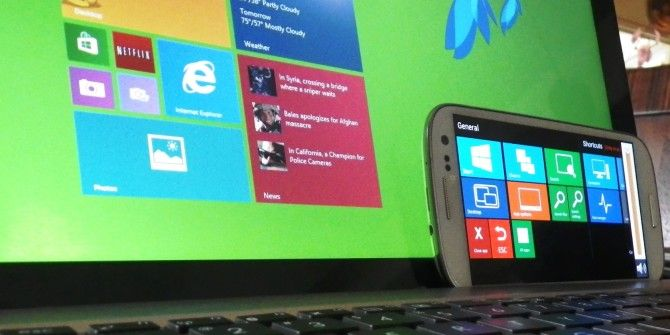 How To Control Your Windows 8 PC From Your Mobile Device