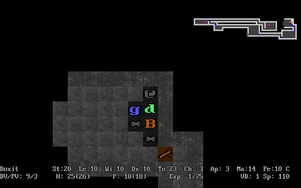 Roguelikes: A Unique & Challenging Spin On The RPG Genre adom1