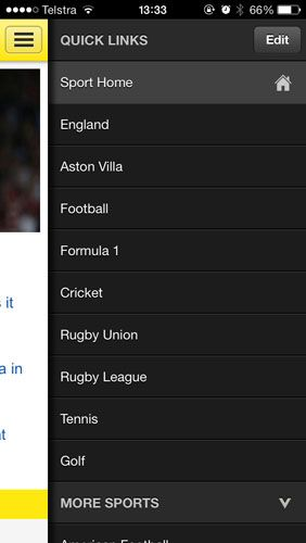 The Only Apps You Need To Follow 2013/14 Football On Your iPhone bbcsport1