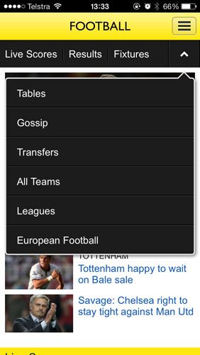 The Only Apps You Need To Follow 2013/14 Football On Your iPhone bbcsport2
