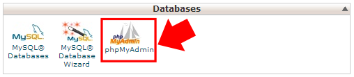 cPanel-Database-Options