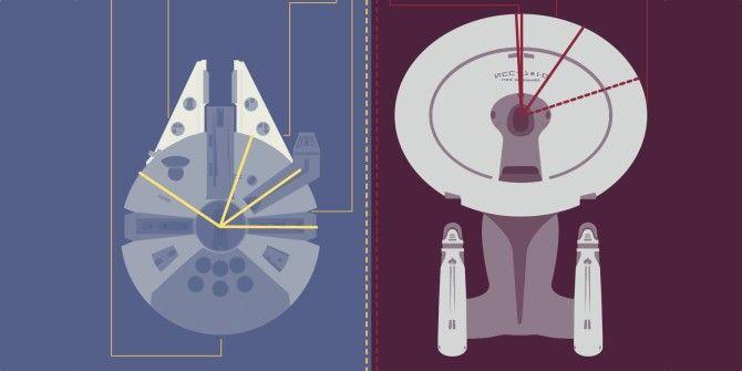USS Enterprise vs. Millenium Falcon: Know Your Facts