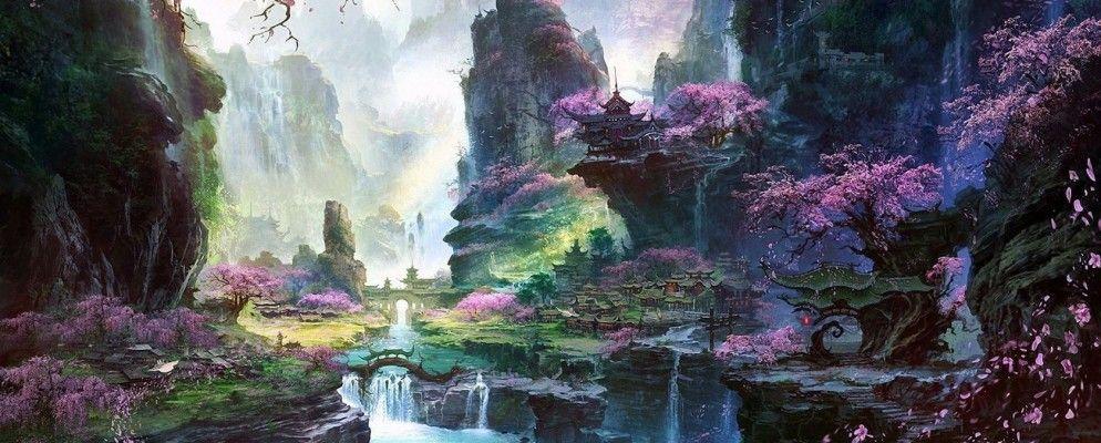 10 Breathtakingly Beautiful Fantasy Landscapes