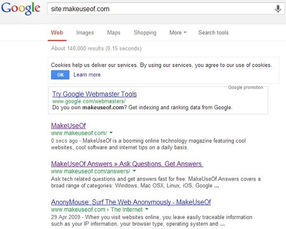 8 Google Search Tips To Keep Handy At All Times google site makeuseof