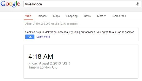 8 Google Search Tips To Keep Handy At All Times google time london