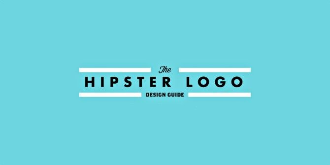 How To Design Your Own Hipster Logo In 6 Easy Steps