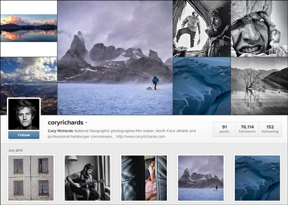 Instagram nature photographer