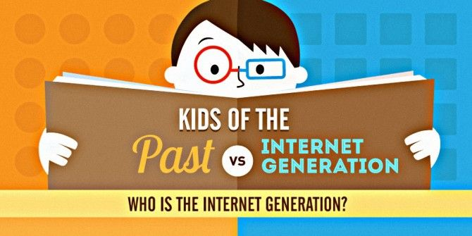 Kids: Past Vs. Internet Generation