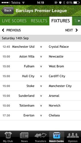 The Only Apps You Need To Follow 2013/14 Football On Your iPhone mirror2
