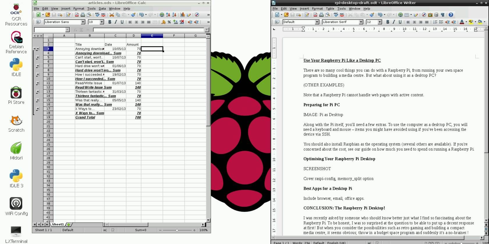 Use Your Raspberry Pi Like a Desktop PC