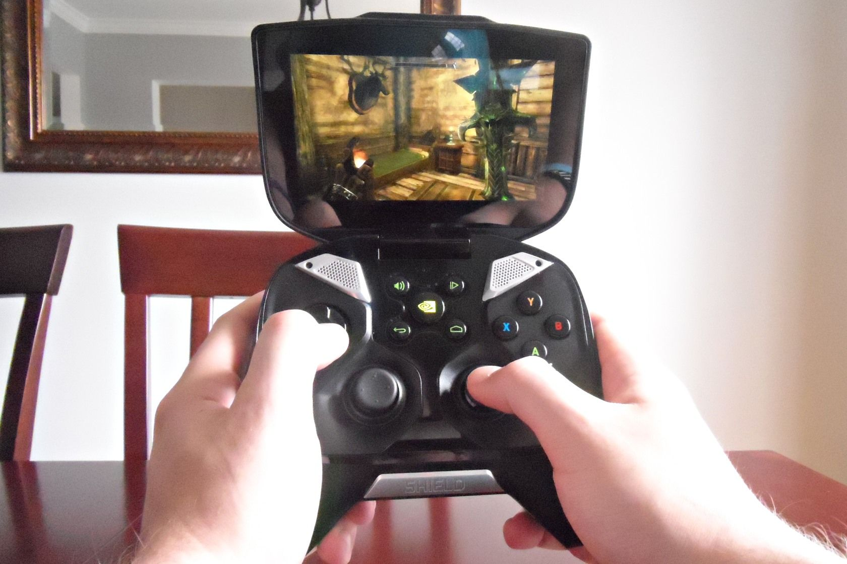 nvidia shield gaming