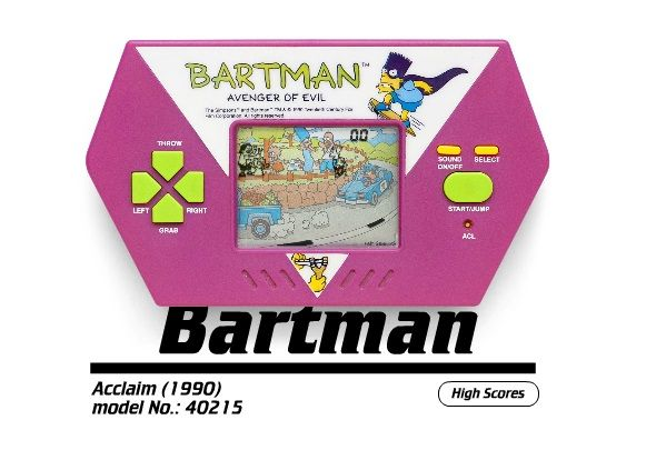 Pica Pic Brings Classic Handheld Electronic Games To The Web pica pic bartman