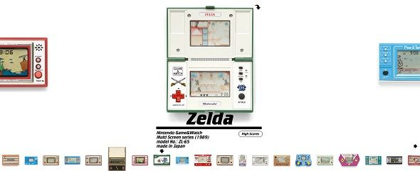 Pica Pic Brings Classic Handheld Electronic Games To The Web pica pic zelda