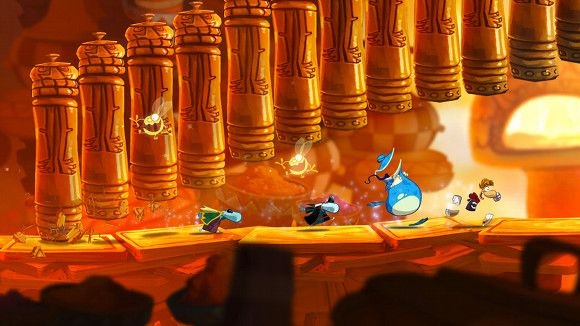 6 Video Games With Fantastic Local Multiplayer For Dorm Room Gaming raymanorigins