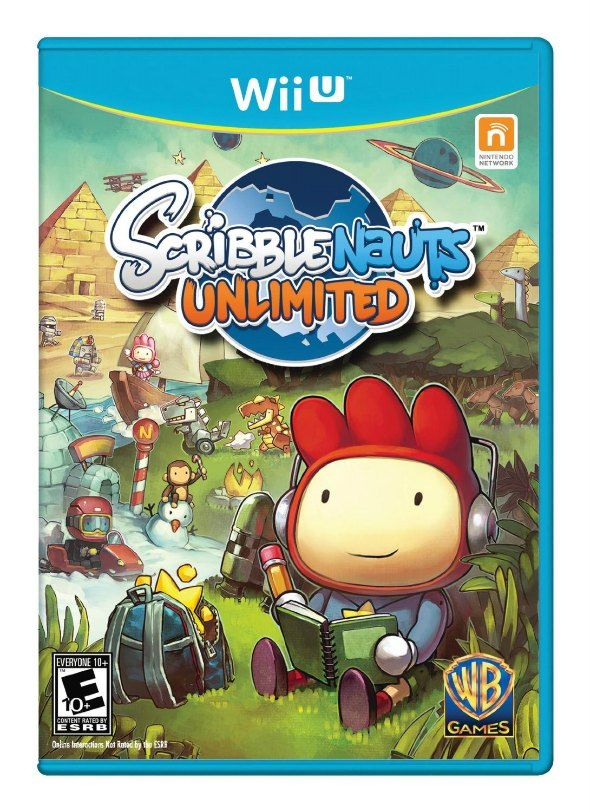 6 Educational Console Games For A Fun And Successful School Year scribblenauts unlimited