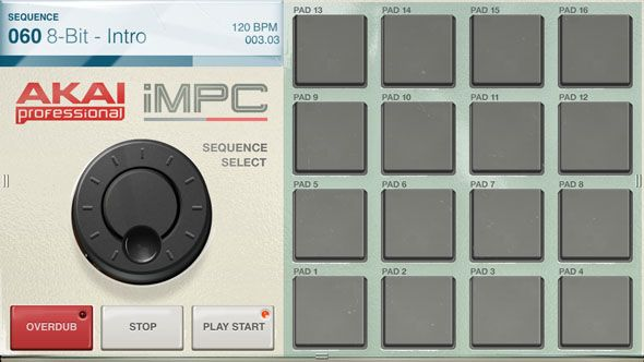 iMPC: Akai's Legendary Music Production Centre Comes To iPhone & iPad sequence