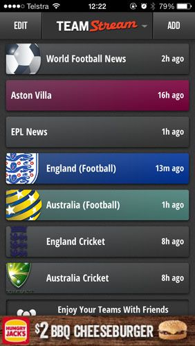 The Only Apps You Need To Follow 2013/14 Football On Your iPhone teamstream1
