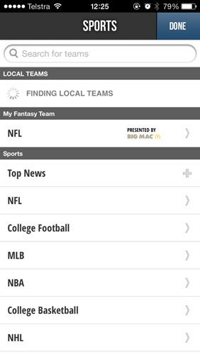 The Only Apps You Need To Follow 2013/14 Football On Your iPhone teamstream2