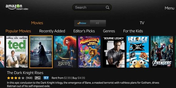 Amazon Instant Video App Now Supports Airplay and Apple TV